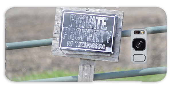 Private Property Galaxy Case