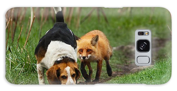 Wild Animals Galaxy Case - Probably The World's Worst Hunting Dog by Mircea Costina Photography