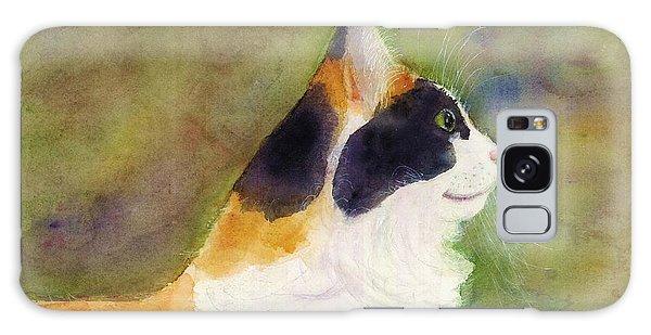 Profile Of A Cat Galaxy Case by Ann Michelle Swadener