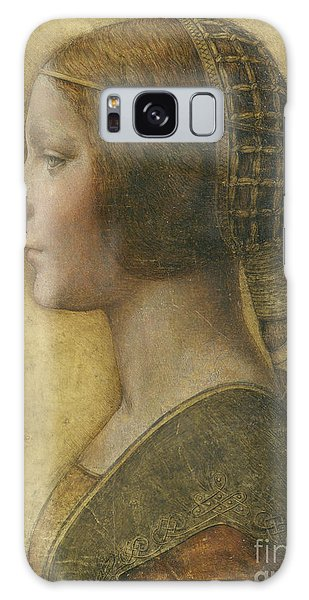 Female Galaxy Case - Profile Of A Young Fiancee by Leonardo Da Vinci
