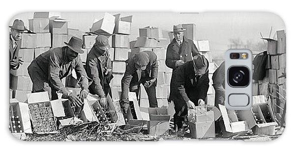Prohibition Feds Destroy Liquor  1923 Galaxy Case by Daniel Hagerman