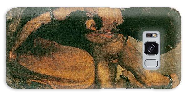 Anguish Galaxy Case - Prometheus Oil On Canvas by Francisco Jose de Goya y Lucientes