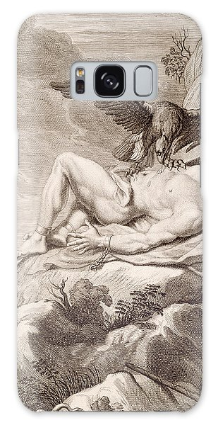 Folklore Galaxy Case - Prometheus Tortured By A Vulture by Bernard Picart