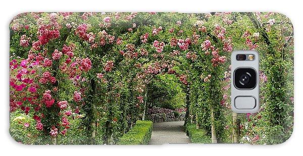 Rose Promenade   Galaxy Case