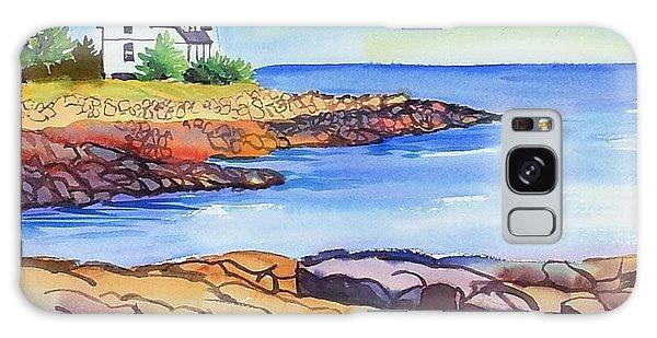 Prospect Harbor Lighthouse Me Galaxy Case