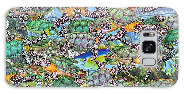 Turtle Galaxy Case - Protecting Mr. Bluefin  by Betsy Knapp