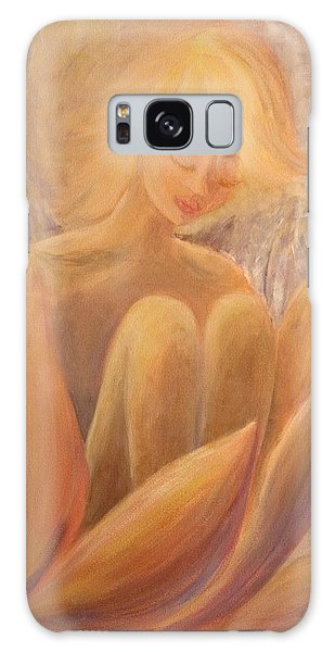 Protection Galaxy Case by Joanne Smoley