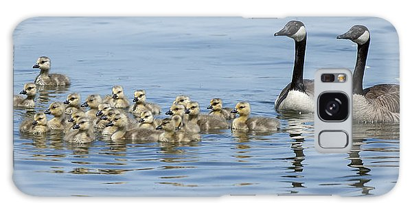 Gosling Galaxy Case - Proud Parents by Gary Langley