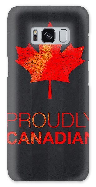 Mottled Galaxy Case - Proudly Canadian by Aged Pixel