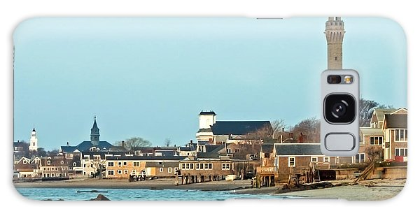 Provincetown Bay And Monument Galaxy Case