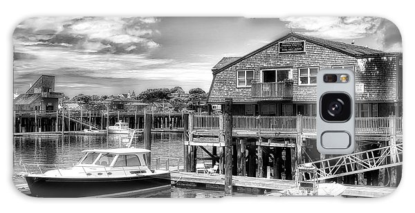 Provincetown Pier Galaxy Case