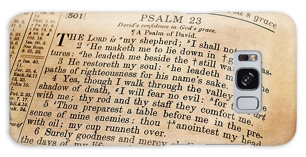 Psalm 23 - The Lord Is My Shepherd Galaxy Case