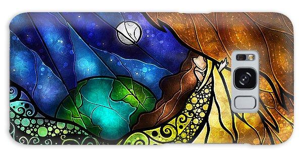 Feather Stars Galaxy Case - Psalm 91 by Mandie Manzano