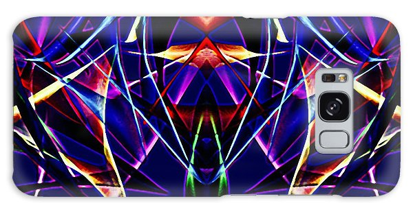 Psychedelic Bat N Wings Galaxy Case by Gayle Price Thomas