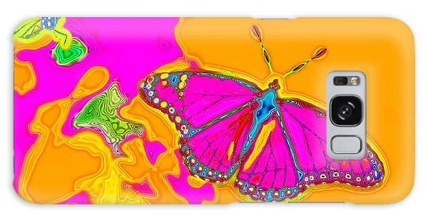 Psychedelic Butterflies Galaxy Case