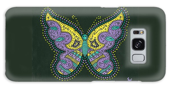 Psychedelic Butterfly Galaxy Case by Susie Weber