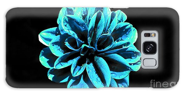 Psychedelic Flower 9 Galaxy Case by Sarah Mullin