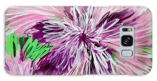 Psychedelic Flower Galaxy Case