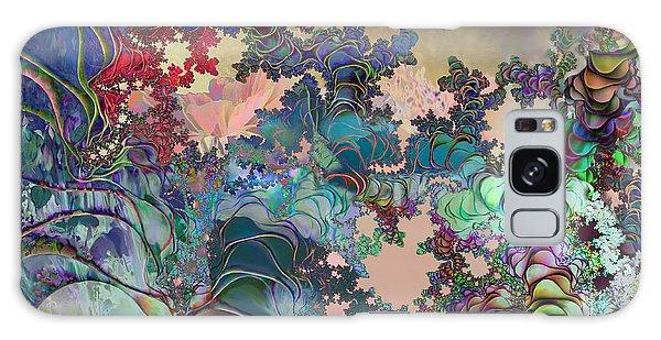 Psychedelic Garden Galaxy Case by Ursula Freer