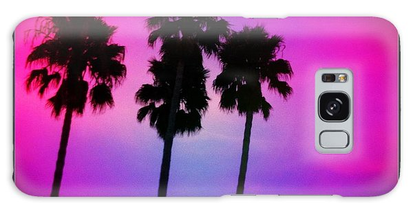 Psychedelic Palms Galaxy Case