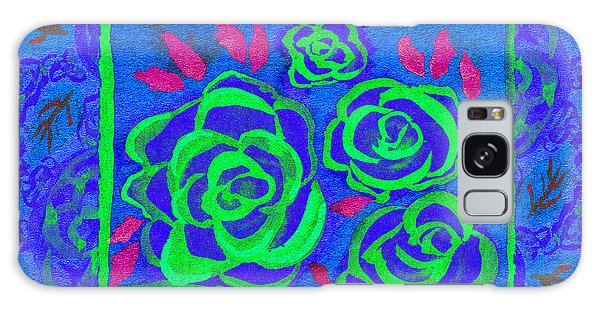 Psychedelic Roses - Summer Galaxy Case