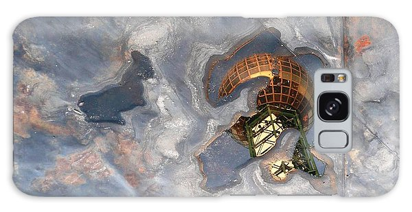 Puddle Of Sunsphere Galaxy Case