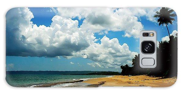 Puerto Rican Beach Galaxy Case by Kara  Stewart