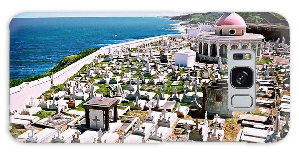 Puerto Rican Cemetery Galaxy Case