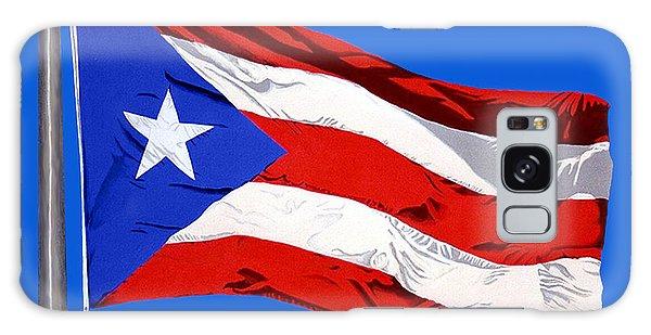 Puerto Rican Flag Galaxy Case