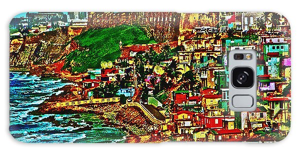 Old San Juan Puerto Rico Walled City Galaxy Case