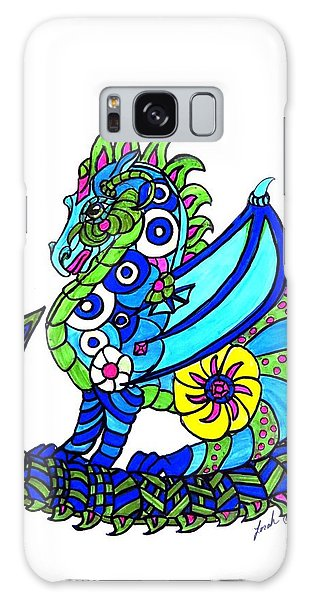 Puff The Magic Dragon Galaxy Case
