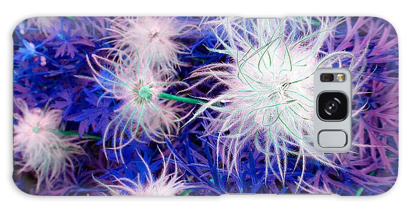 Pulsatilla Seed-head Galaxy Case