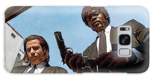 Pulp Fiction Artwork 1 Galaxy Case