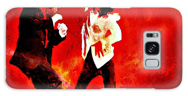 Pulp Fiction Dance 2 Galaxy Case by Brian Reaves