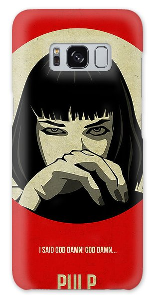 Movie Galaxy Case - Pulp Fiction Poster by Naxart Studio