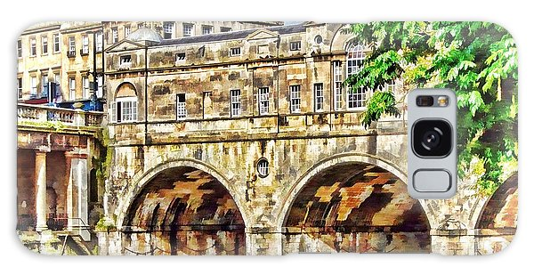 Pulteney Bridge Bath Galaxy Case