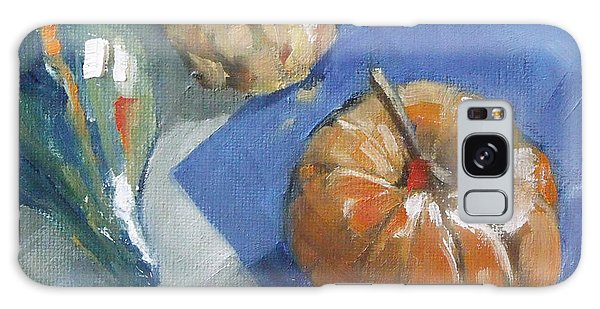Pumpkin And Gourds Still Life Galaxy Case