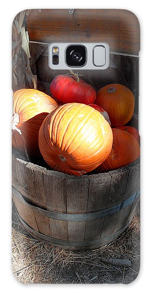 Pumpkin Barrel Galaxy Case by Mark Barclay