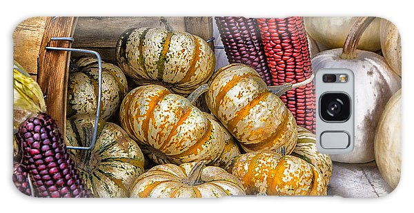 Pumpkin Basket Galaxy Case