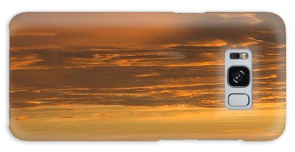 Pumpkin Buttes At Sunrise Galaxy Case