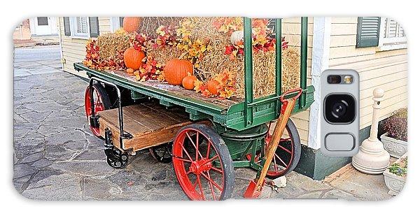 Pumpkin Cart Galaxy Case