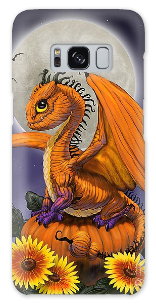 Pumpkin Dragon Galaxy Case