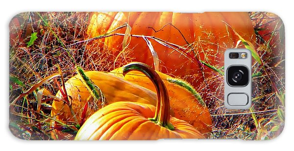 Pumpkin Patch Galaxy Case by Michelle Frizzell-Thompson