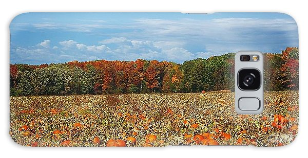 Pumpkin Patch - Panorama Galaxy Case