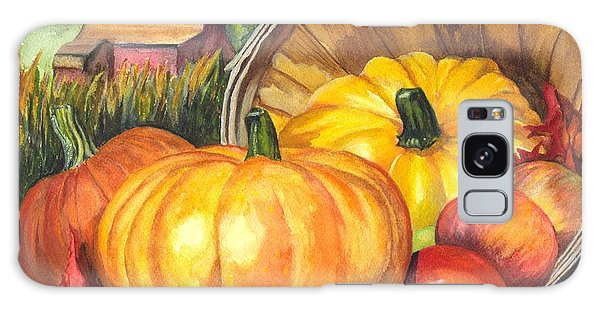 Pumpkin Pickin Galaxy Case