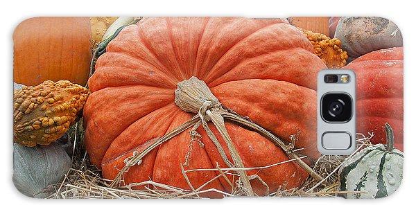 Pumpkin Times Galaxy Case by Minnie Lippiatt