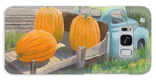 Pumpkin Truck Galaxy Case