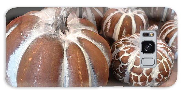 Gourd Galaxy Case - Pumpkins And Gourds Fall Autumn Brown White Pumpkins - Colors Of Autumn by Kathy Fornal