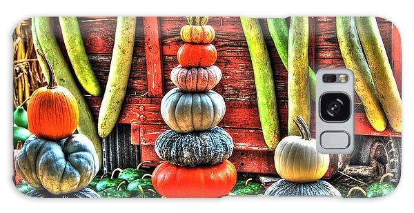 Pumpkins And Gourds Galaxy Case