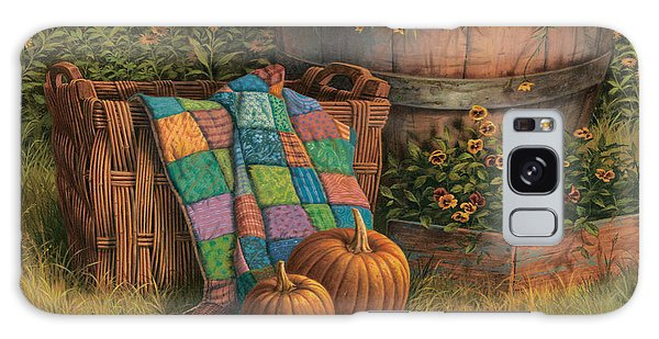 Basket Galaxy Case - Pumpkins And Patches by Michael Humphries